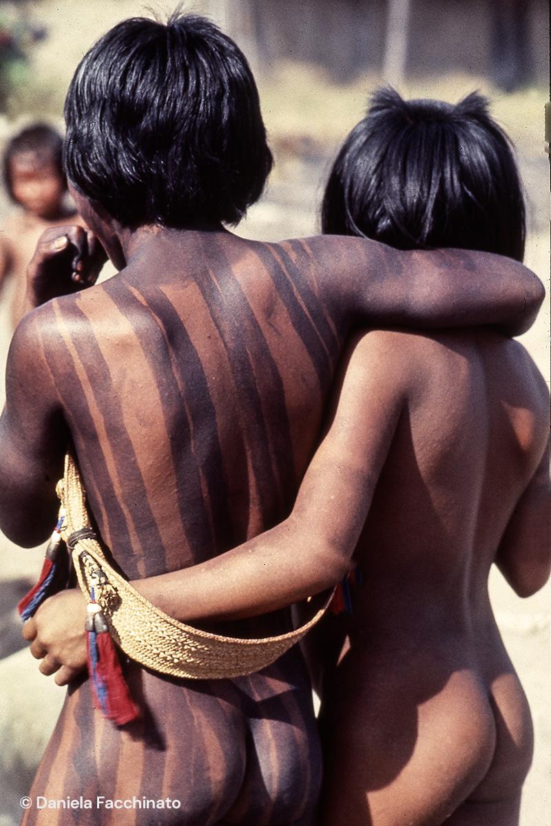 Amazonia, Xingù. Young indies Kayapò