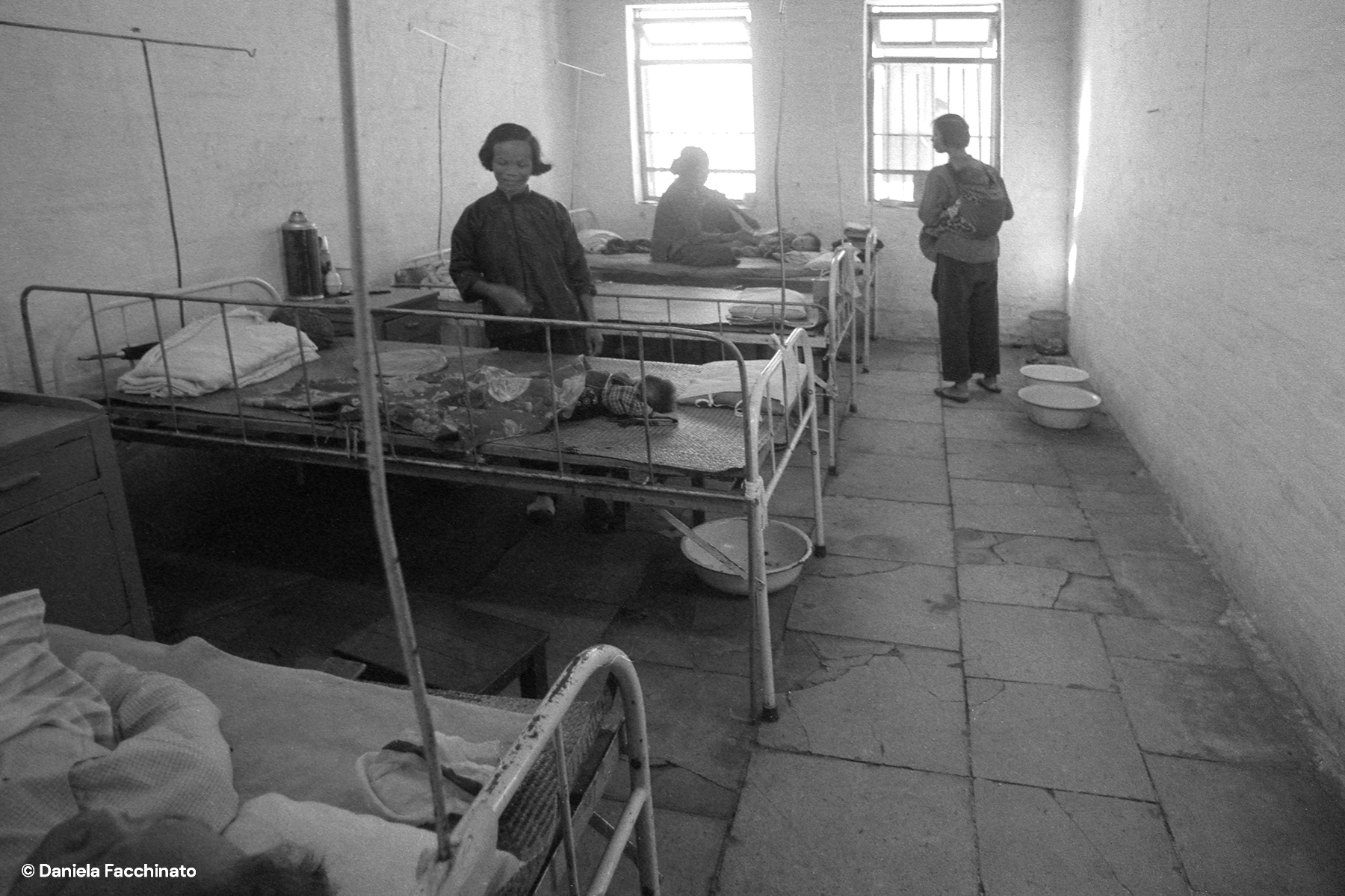 Hunan province, China, 1976. The small hospital of an agricultural commune