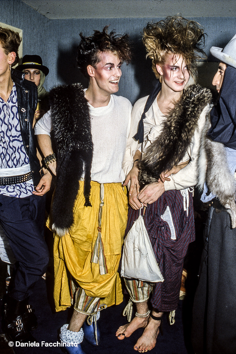 New Romantics Blitz kids at the Tuesday club-night at Blitz in Covent Garden. London 1981