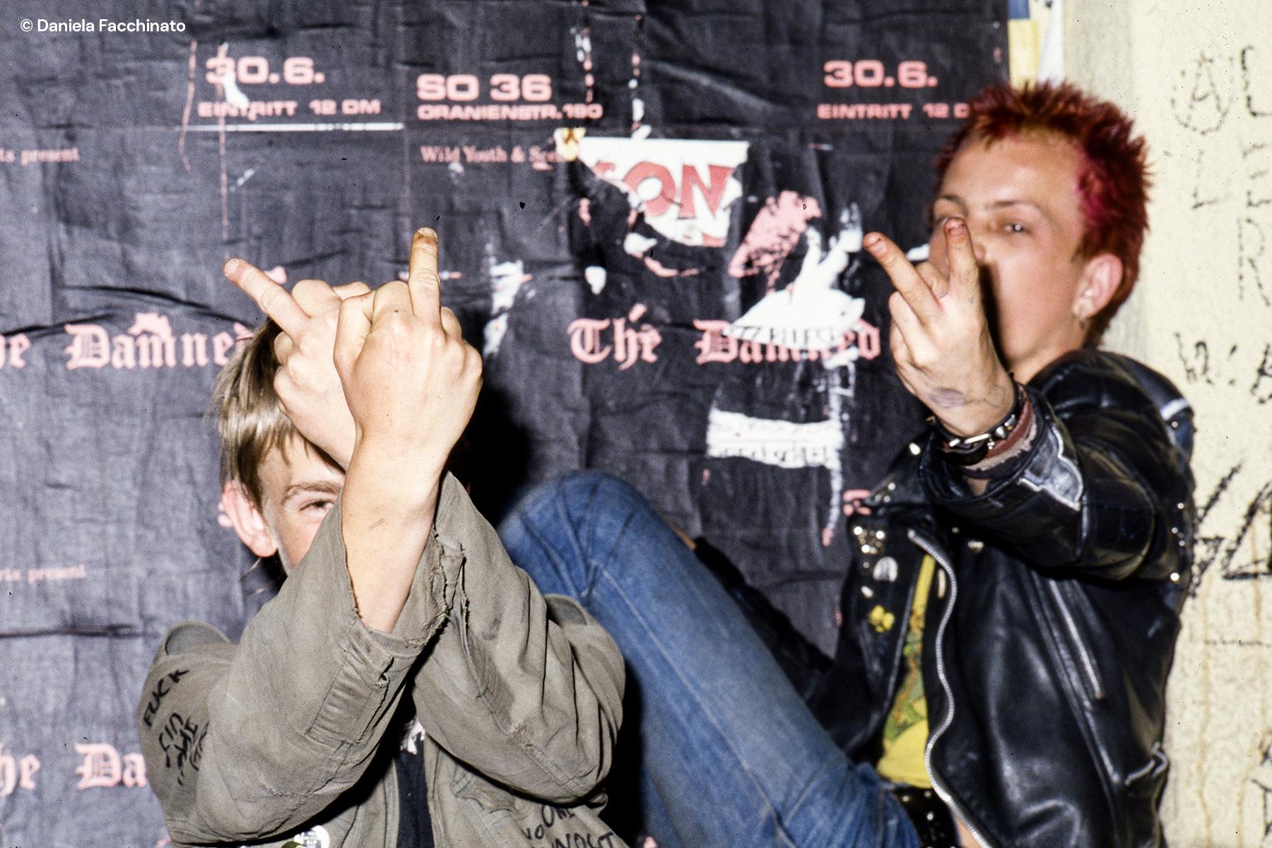 Punk at club S.O. 36 in Oranienstraße Berlin, 1981