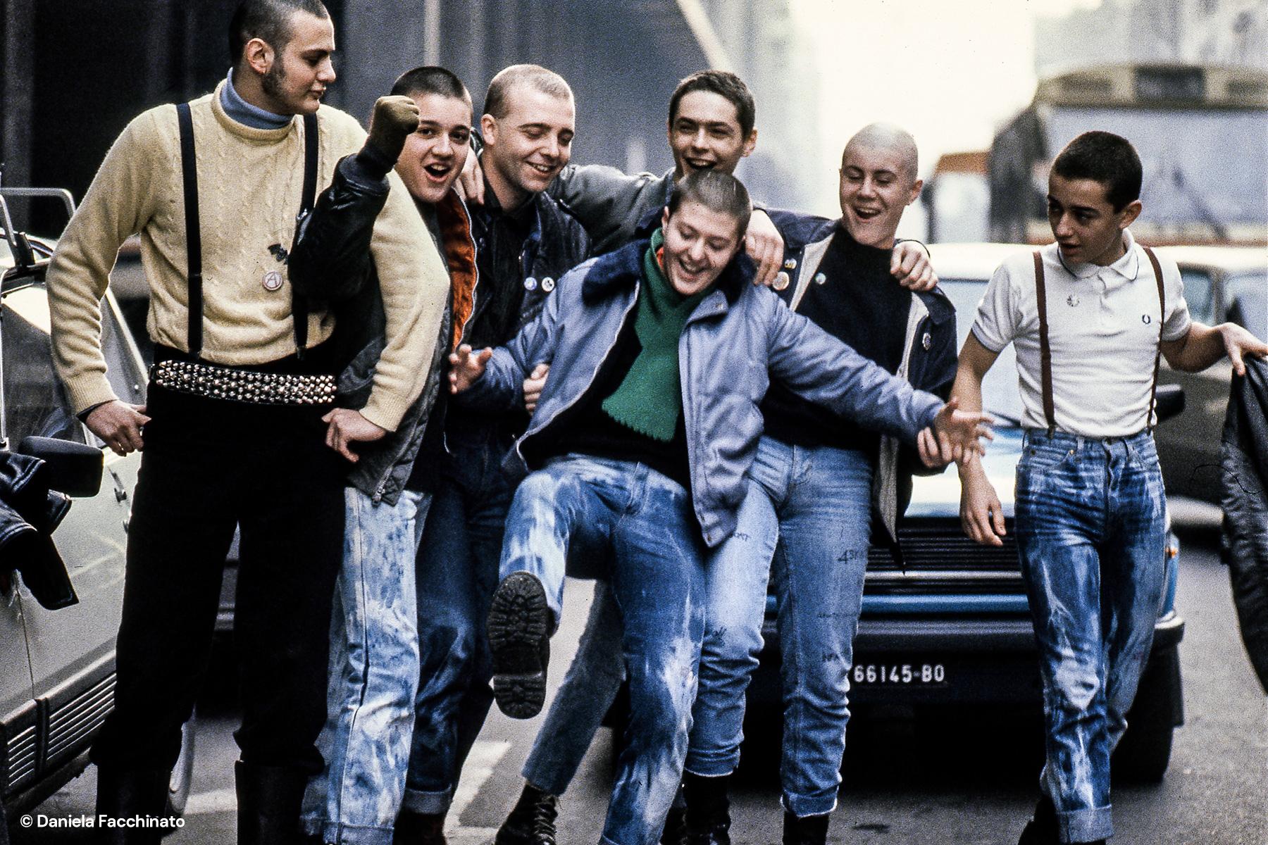 Skinheads in Bologna, 1983