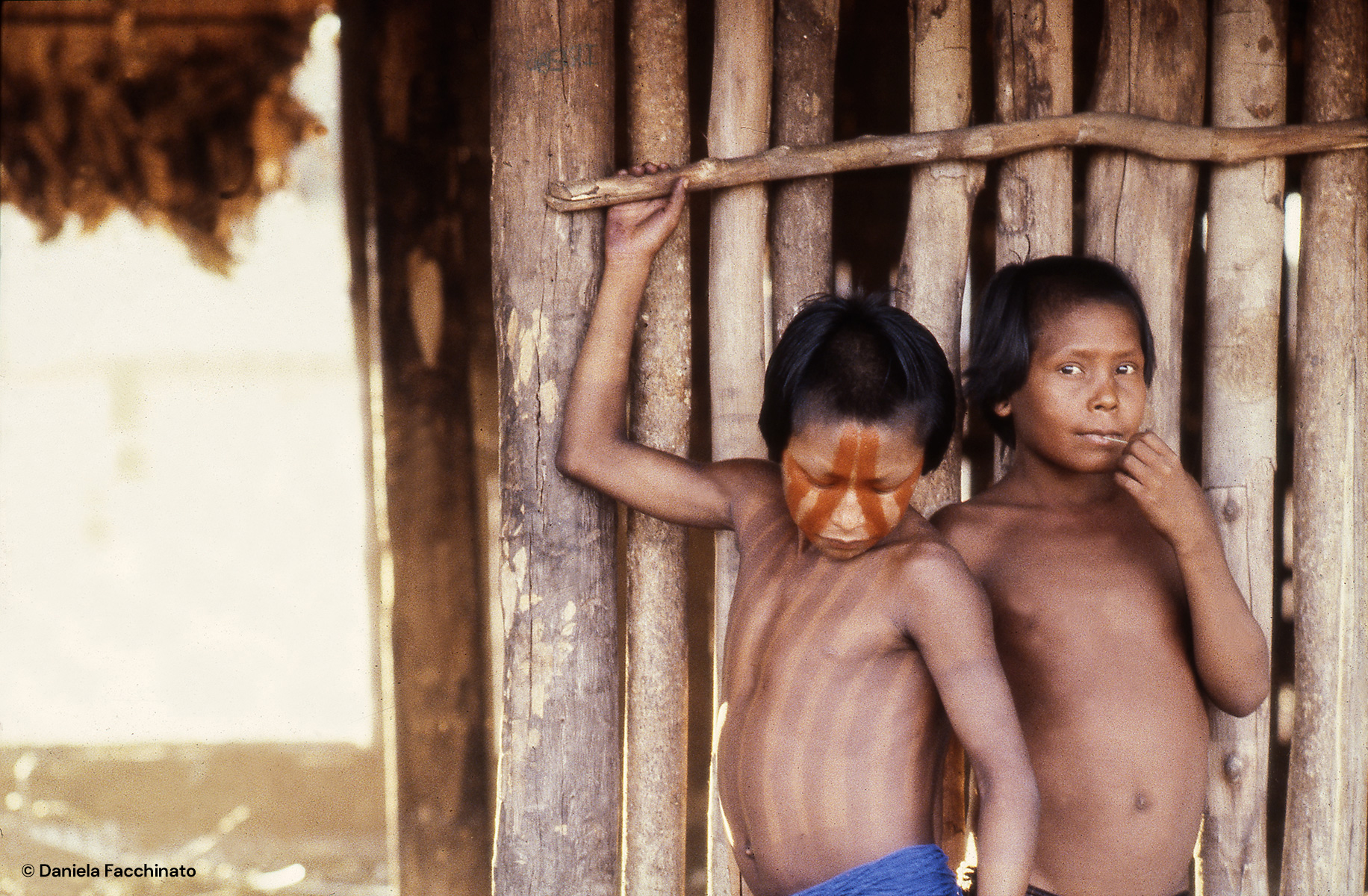 Amazonia, Xingù. Young Kayapò indios