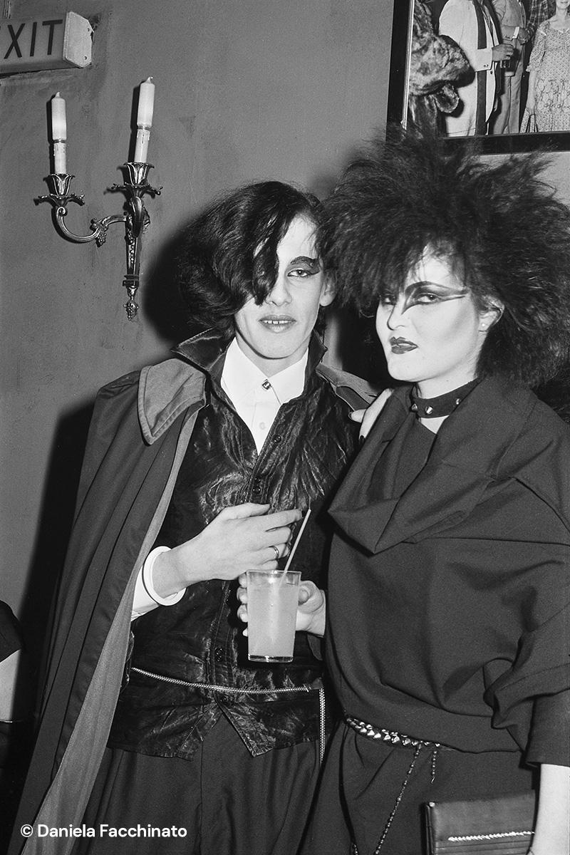 Post punk and pirates at Blitz Club. London 1981