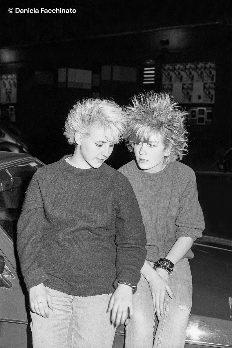 Punk girls. Berlin 1981
